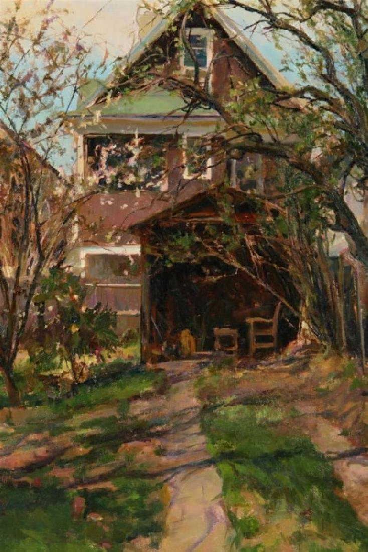 "Rose Frantzen (American), ""End of the Driveway"" - 2"