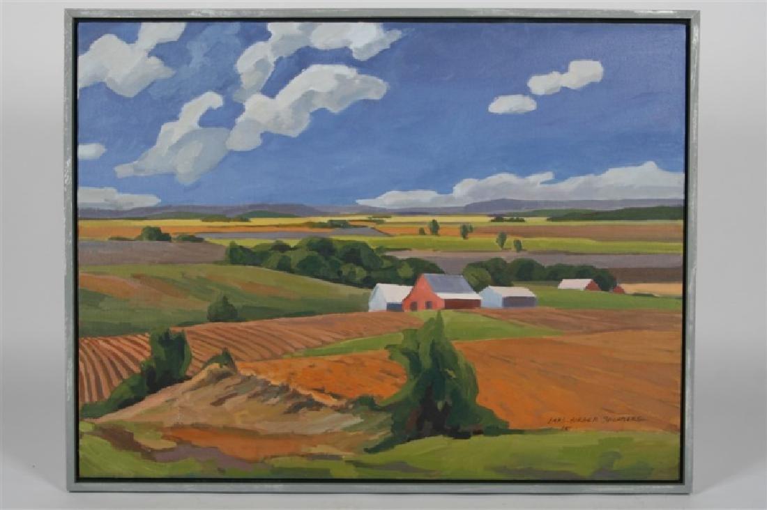 "Lars-Birger Sponberg, ""Farm in Valley"""