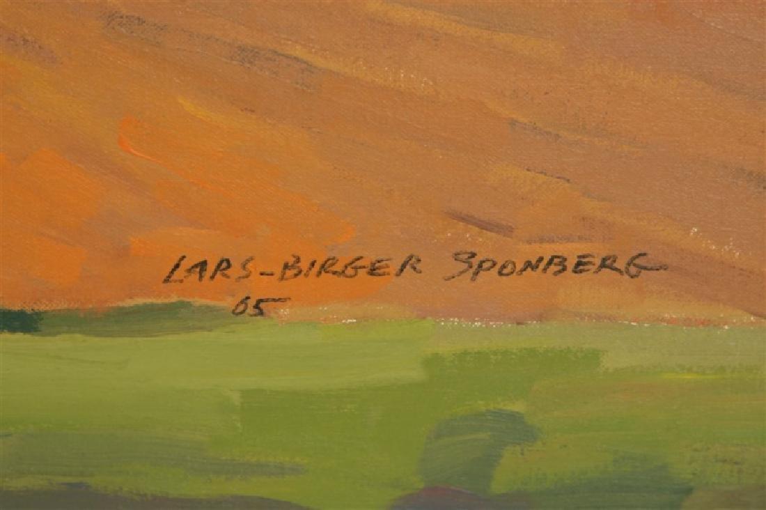 "Lars-Birger Sponberg, ""Farm in Valley"" - 2"
