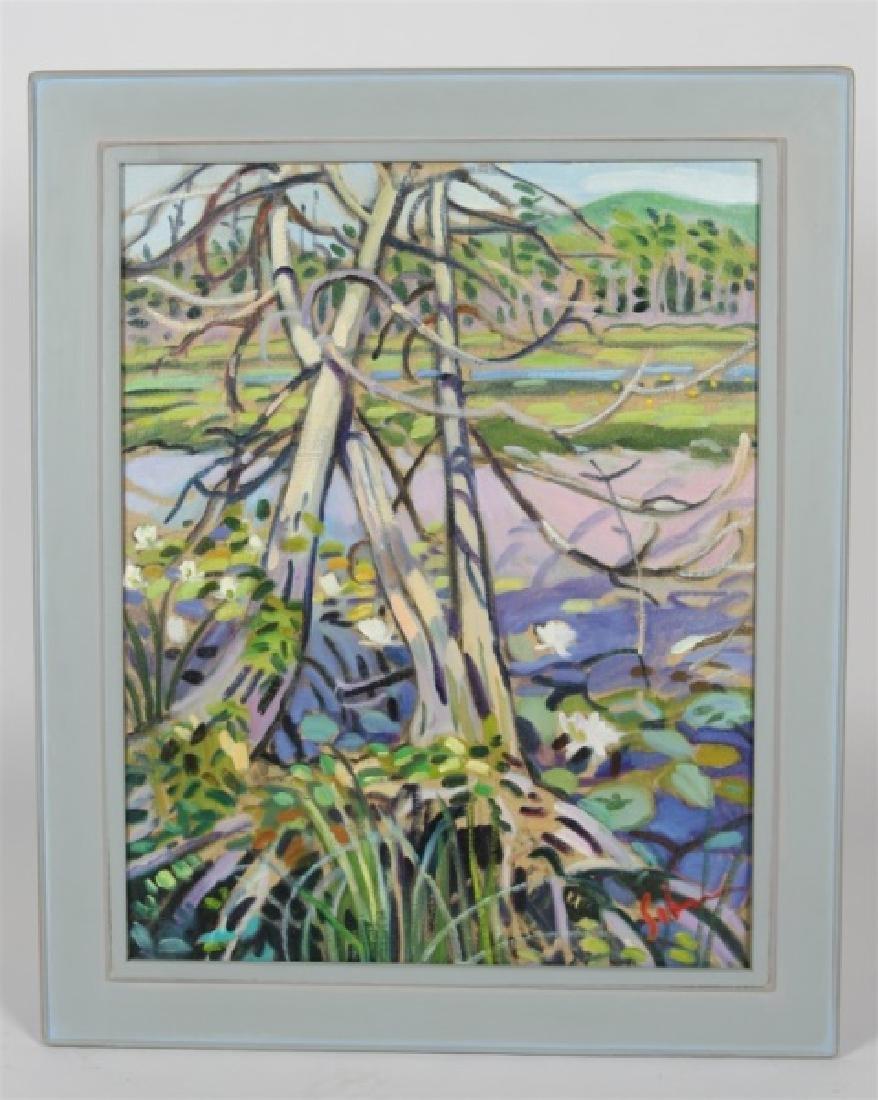 """Greg Sobran (American), """"Wetlands - Leelanau"""""""