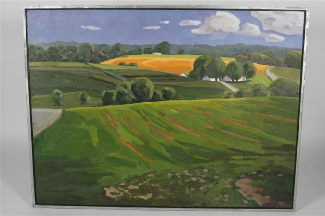 "Lars-Birger Sponberg, ""Farming on the Hill"""