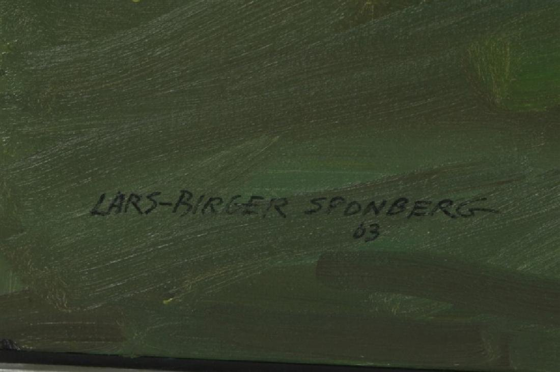 "Lars-Birger Sponberg, ""Farming on the Hill"" - 2"