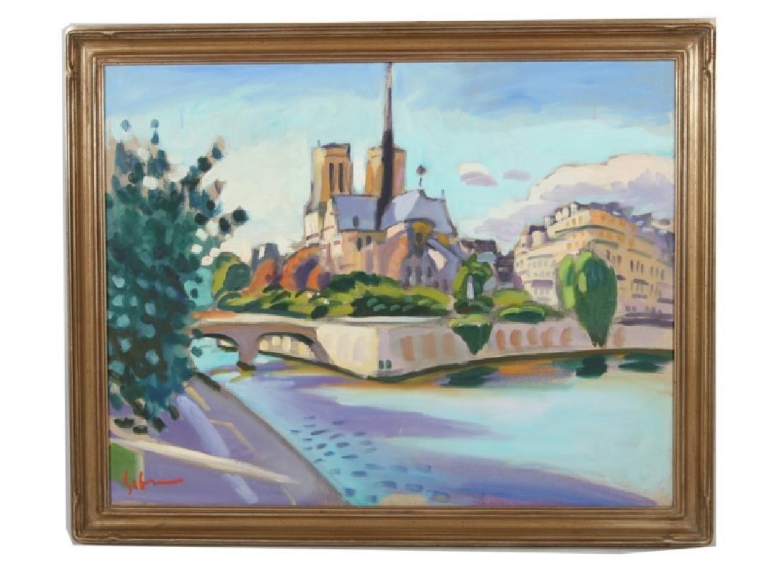 "Greg Sobran (American, b. 1947), ""Notre Dame"""
