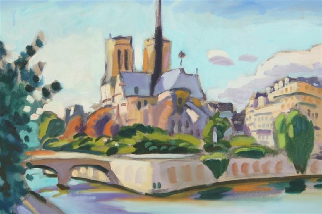 "Greg Sobran (American, b. 1947), ""Notre Dame"" - 2"