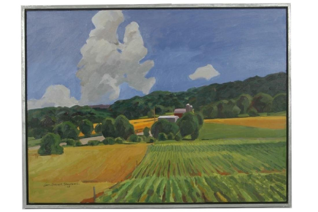 "Lars-Birger Sponberg, ""Clouds & Cornrows"""