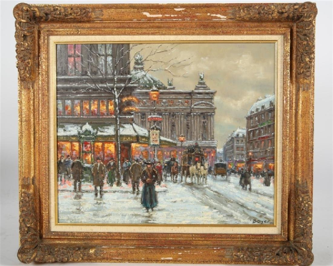 "Jean Boyer (French), ""Winter in Paris"""