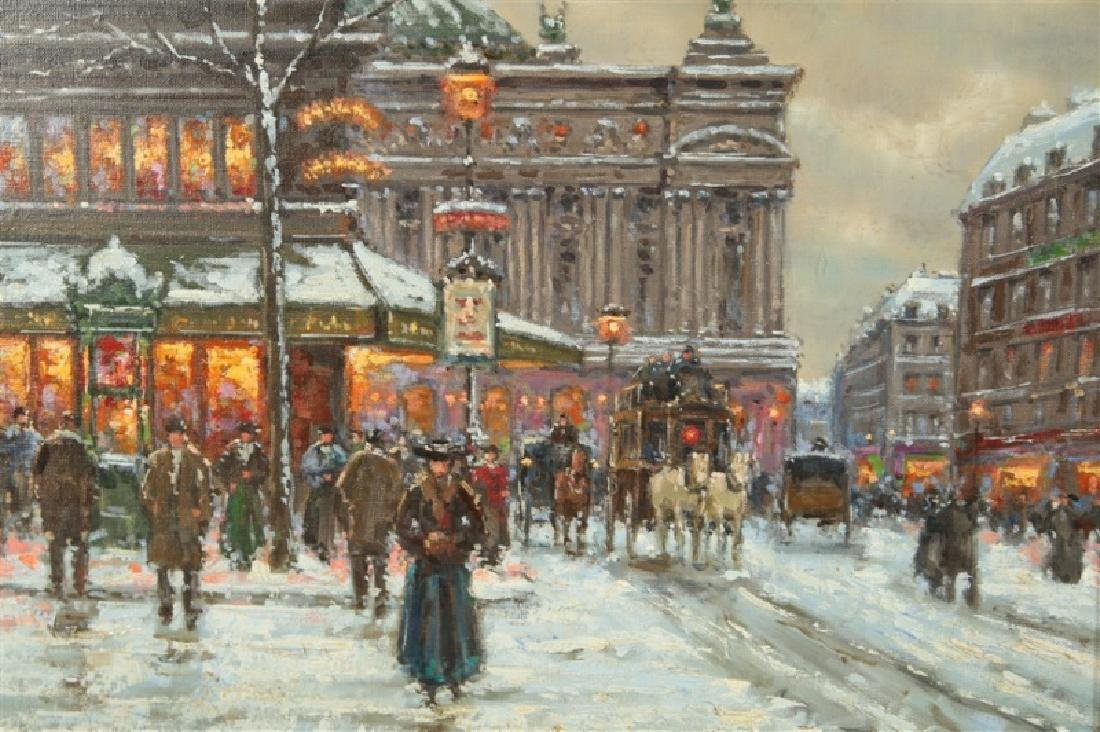 "Jean Boyer (French), ""Winter in Paris"" - 2"