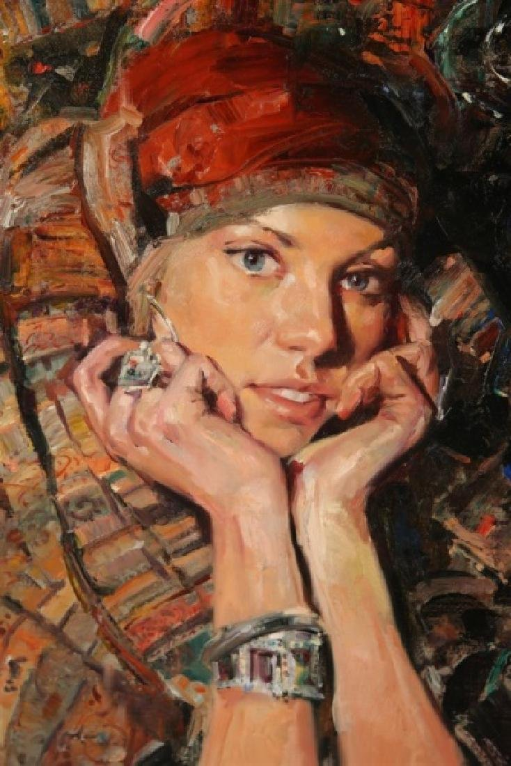 "Jeffrey Watts (American, b. 1970), ""Katrin"" - 2"
