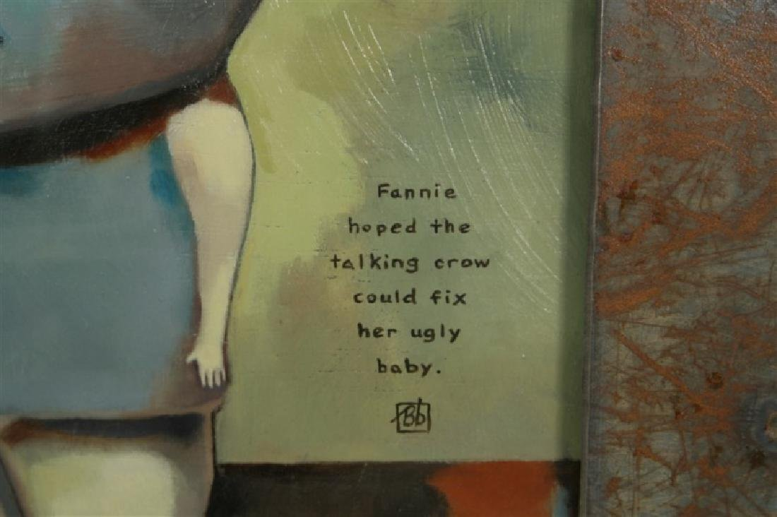 "Beth Bojarski, ""Fanny Hoped the Talking Crow ..."" - 2"