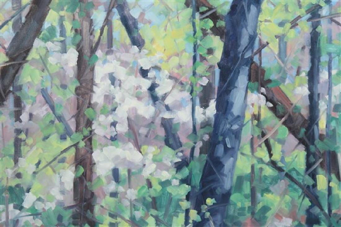 "Linda Stokes (American, b.1939), ""Spring Woods"" - 2"
