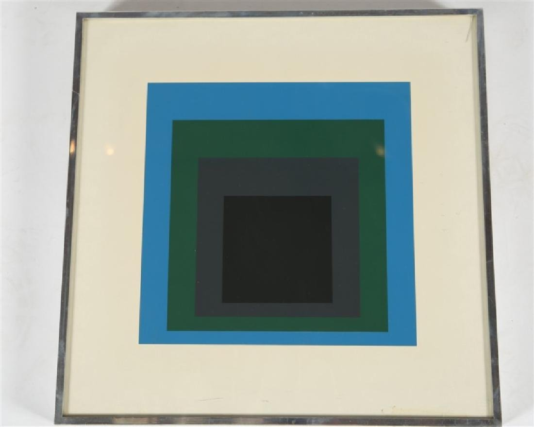 "Josef Albers, ""Homage to the Square"" Serigraph"