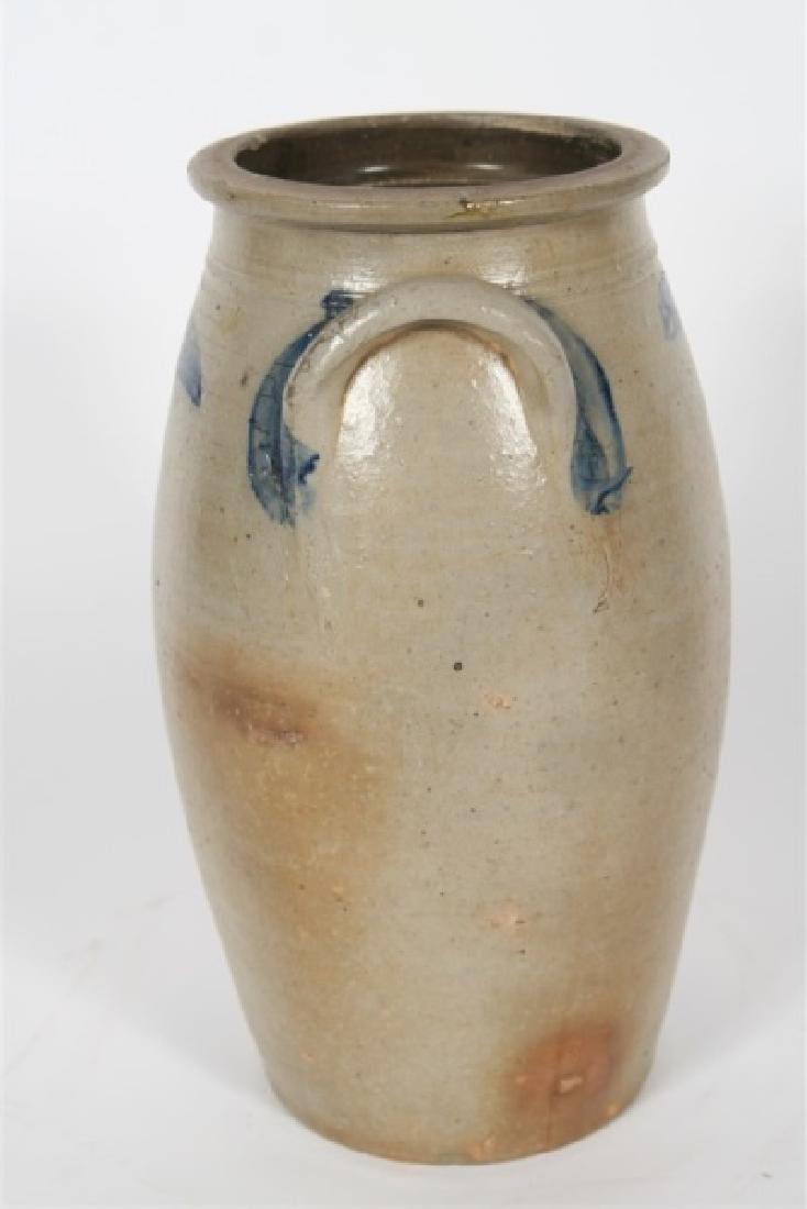 """Glazed Ceramic """"Butter Churn"""" - 6"""