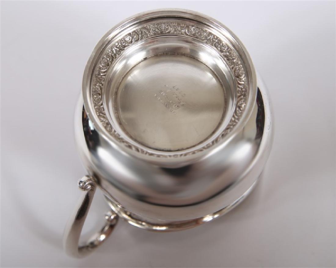 International Sterling, Creamer & Open Sugar Set - 2