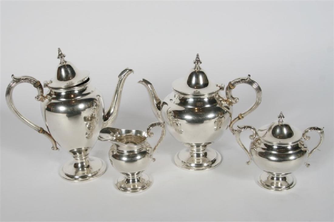 Henry Birks & Sons (Canadian), Sterling Tea Set - 2