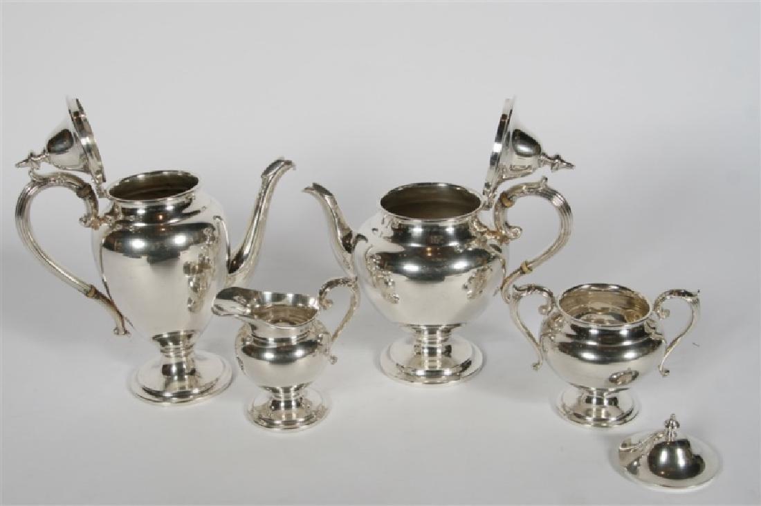 Henry Birks & Sons (Canadian), Sterling Tea Set - 3