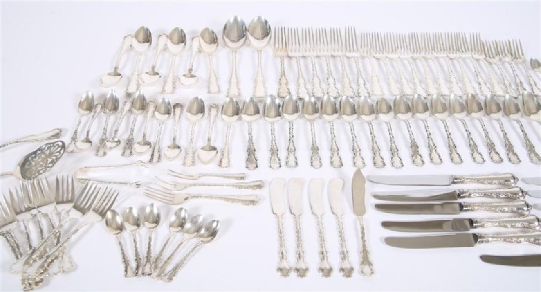 "96-pc ""Louis XV"" Sterling & Silver Plate Flatware - 2"