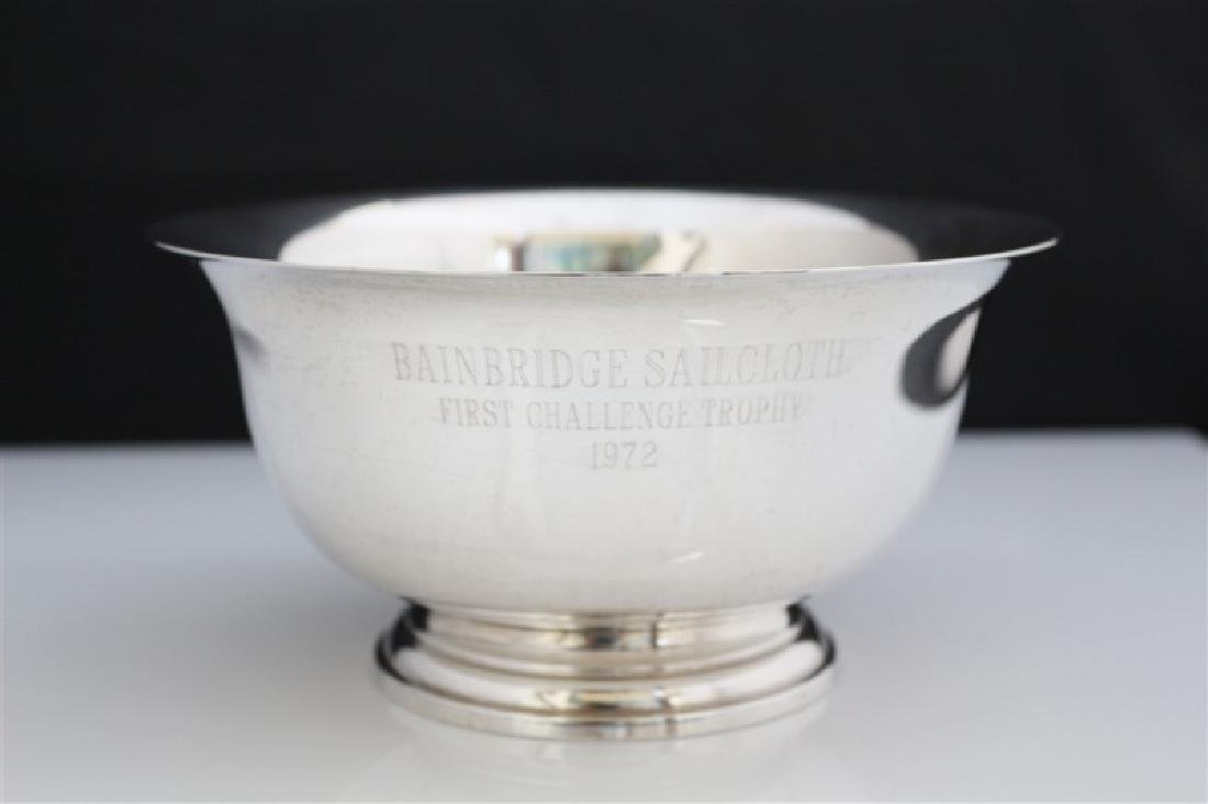 Manchester, Sterling Reproduction Paul Revere Bowl