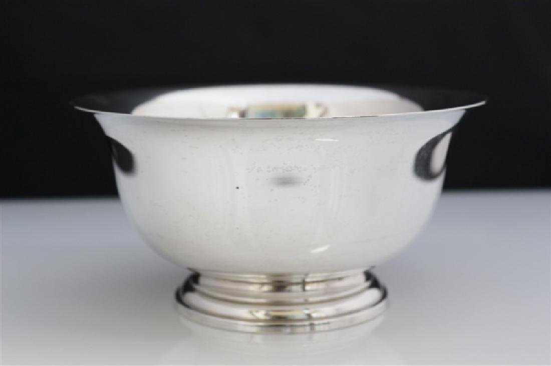 Manchester, Sterling Reproduction Paul Revere Bowl - 2
