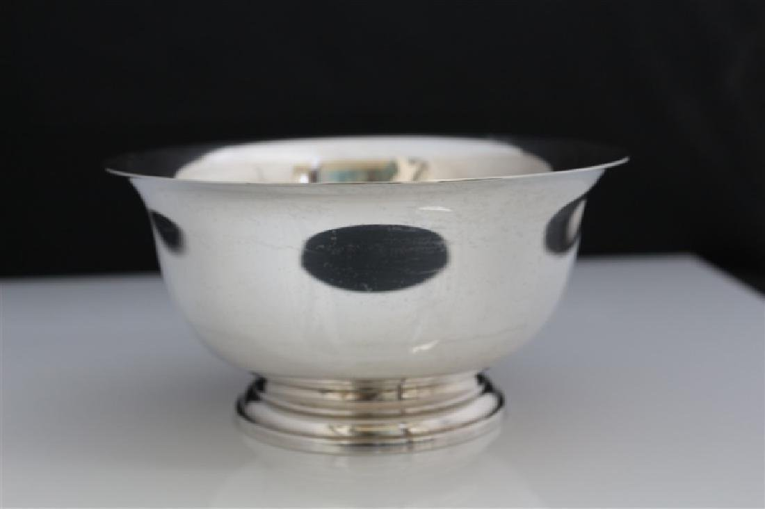 Manchester, Sterling Reproduction Paul Revere Bowl - 3