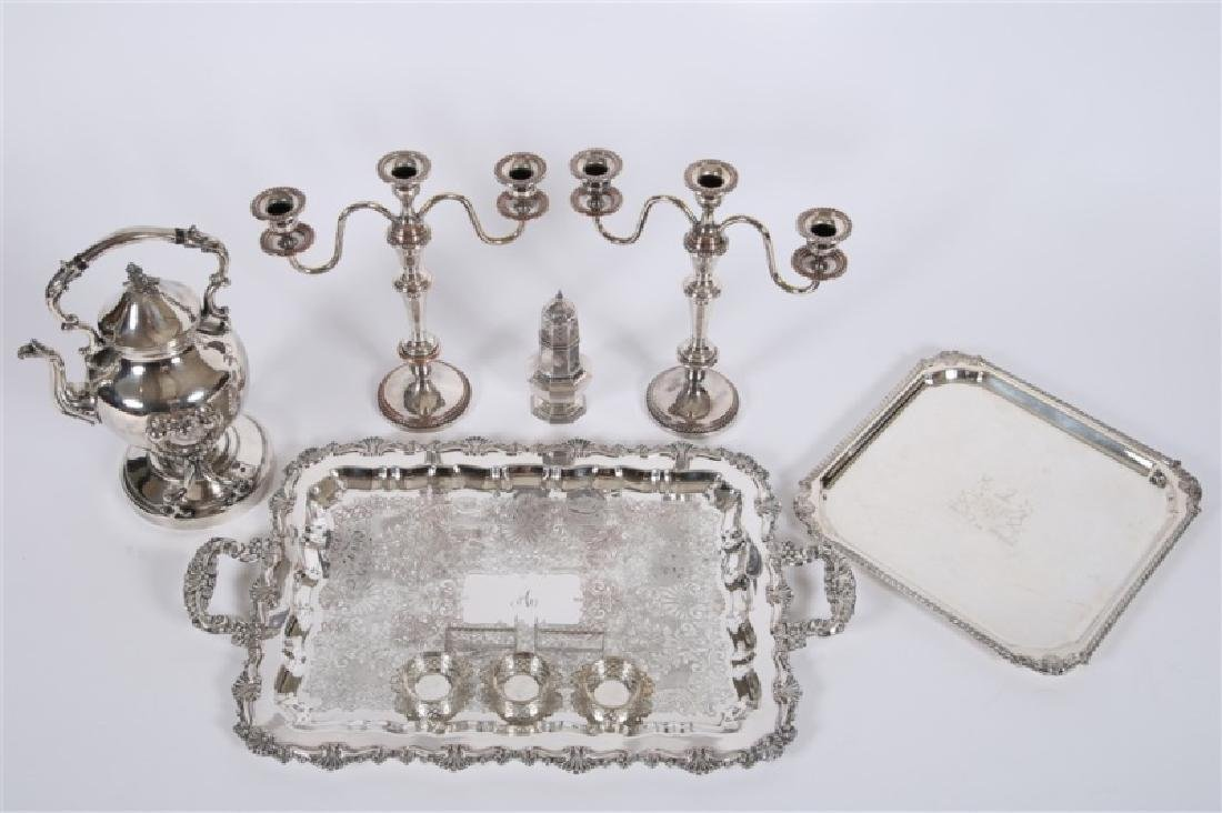 Collection of Decorative Silver Plate Articles