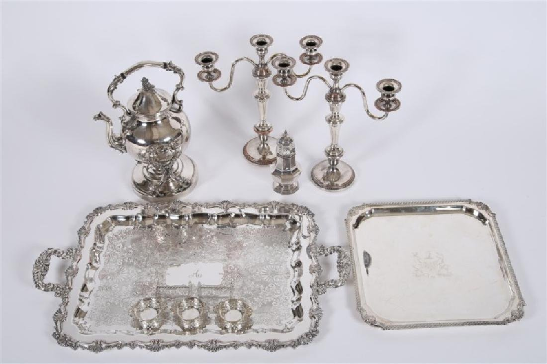 Collection of Decorative Silver Plate Articles - 2