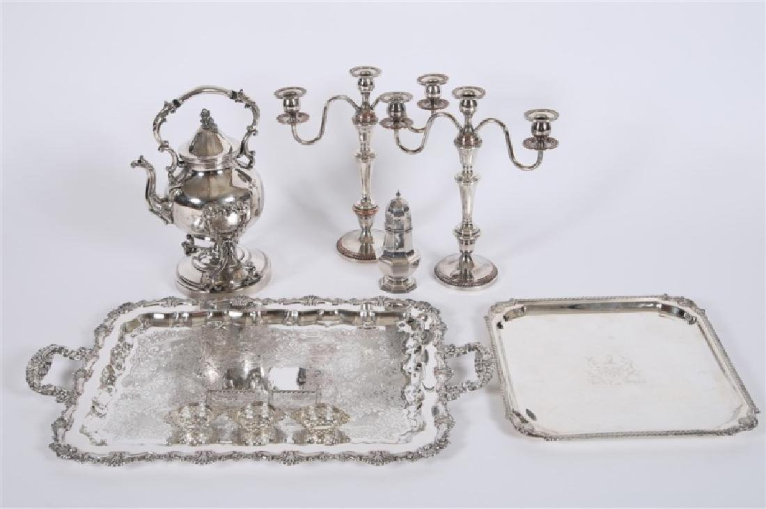 Collection of Decorative Silver Plate Articles - 3