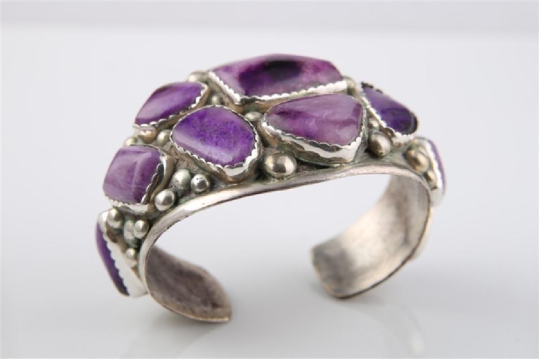 E&C Fierro, Sterling Silver Amethyst Bracelet - 4