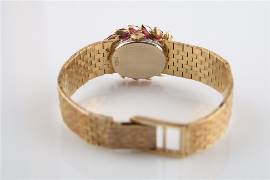 Lucien Piccard (Swiss), 14kt Gold Wrist Watch - 6