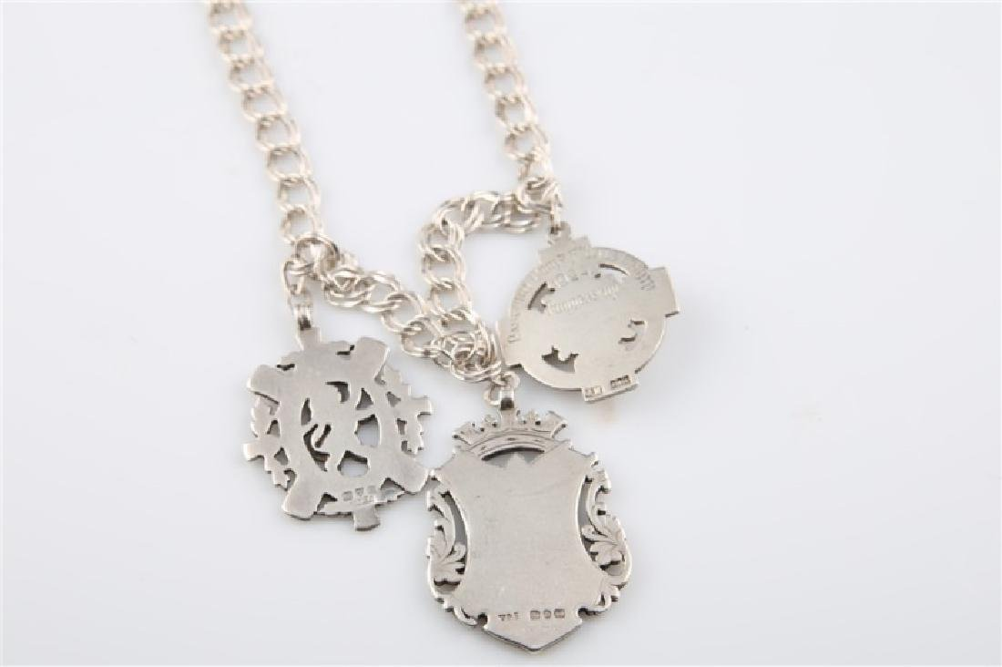 12kt Gold-Filled Charm Necklace with Three Charms - 3