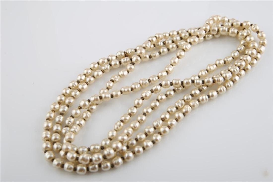 Lot of Three Chanel Costume Jewelry Pieces - 4