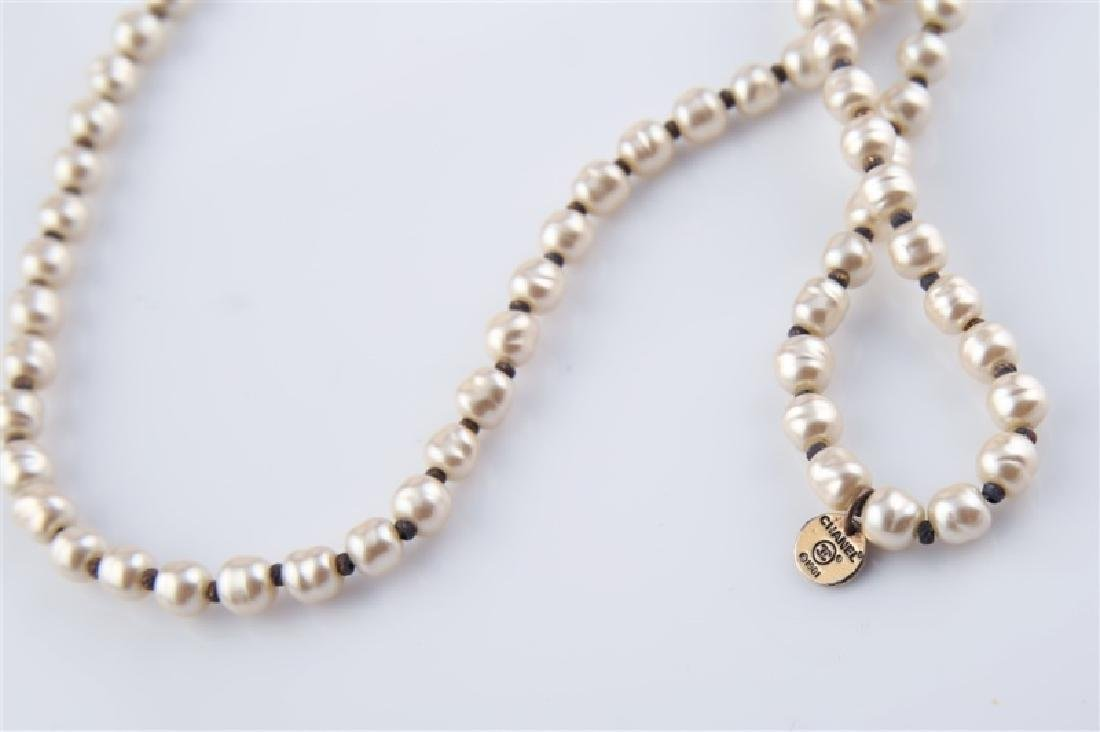 Lot of Three Chanel Costume Jewelry Pieces - 5