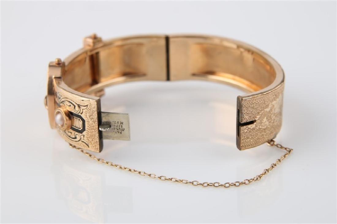 Gold-Filled Victorian Oval Buckle Bracelet - 5