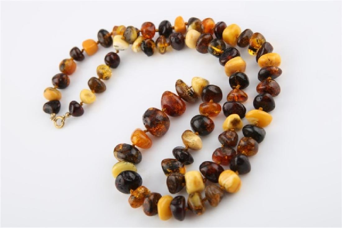 Butterscotch and Baltic Amber Necklace