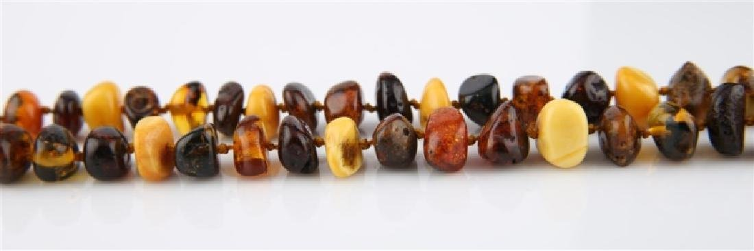 Butterscotch and Baltic Amber Necklace - 2