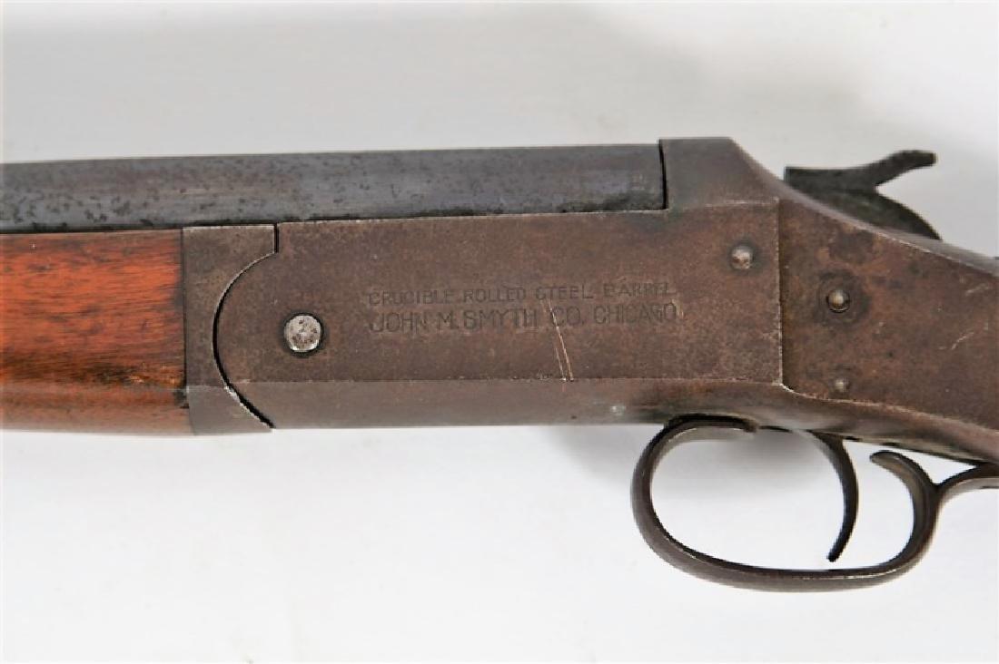 Iver Johnson 12 GA John M Smyth Shotgun - 4