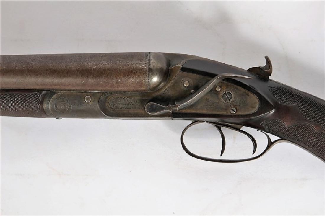 D.M. Lefever, Side Cocking Hammerless Shotgun - 2