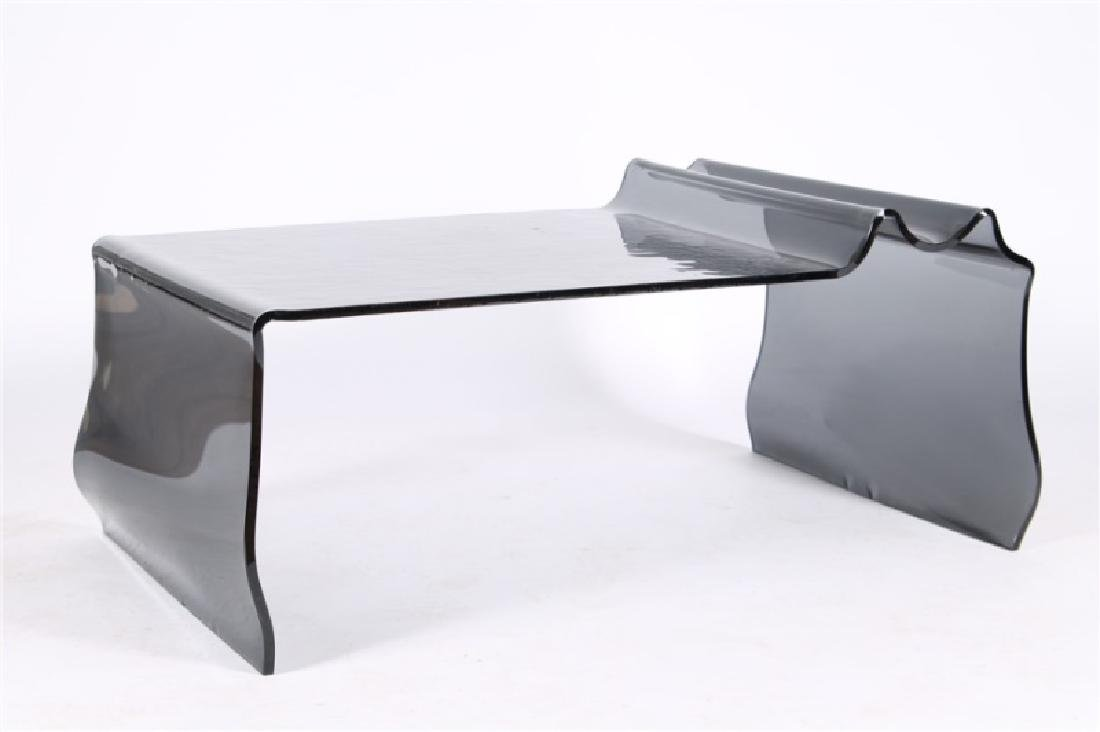 Contemporary Studio Glass Cocktail Table