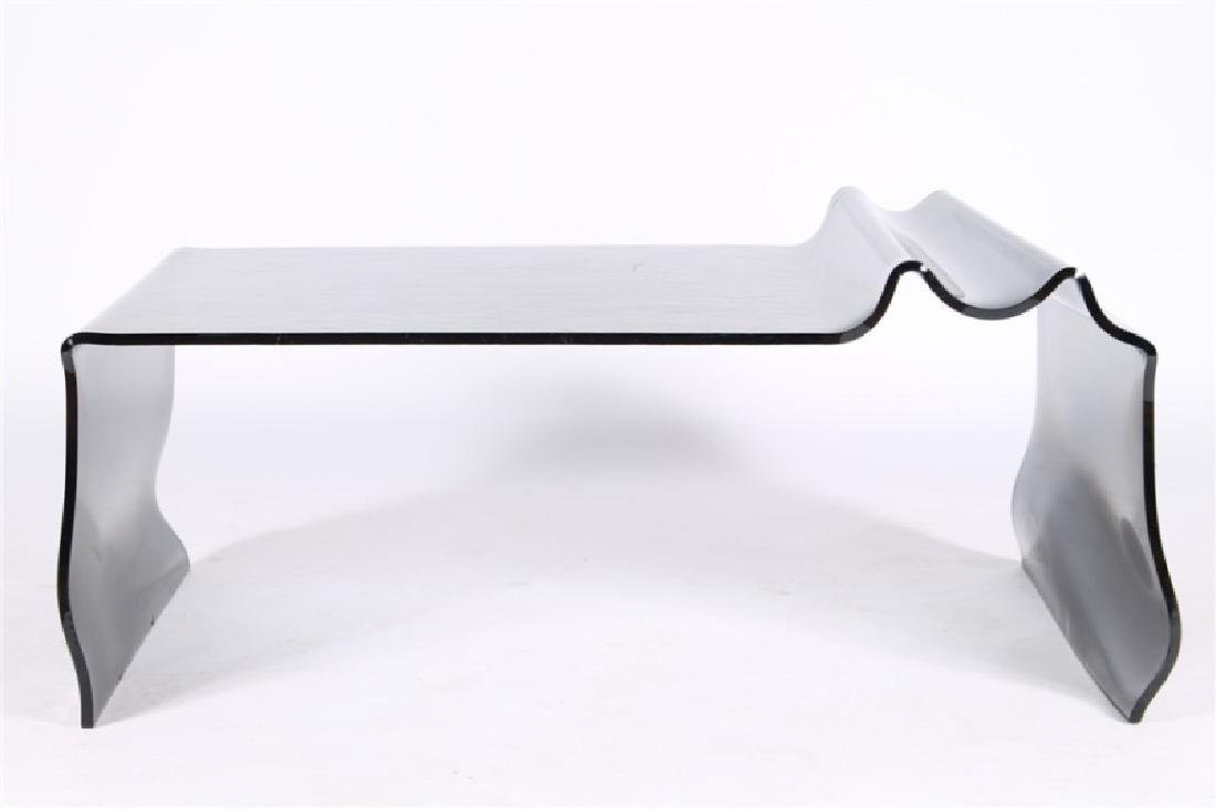 Contemporary Studio Glass Cocktail Table - 2