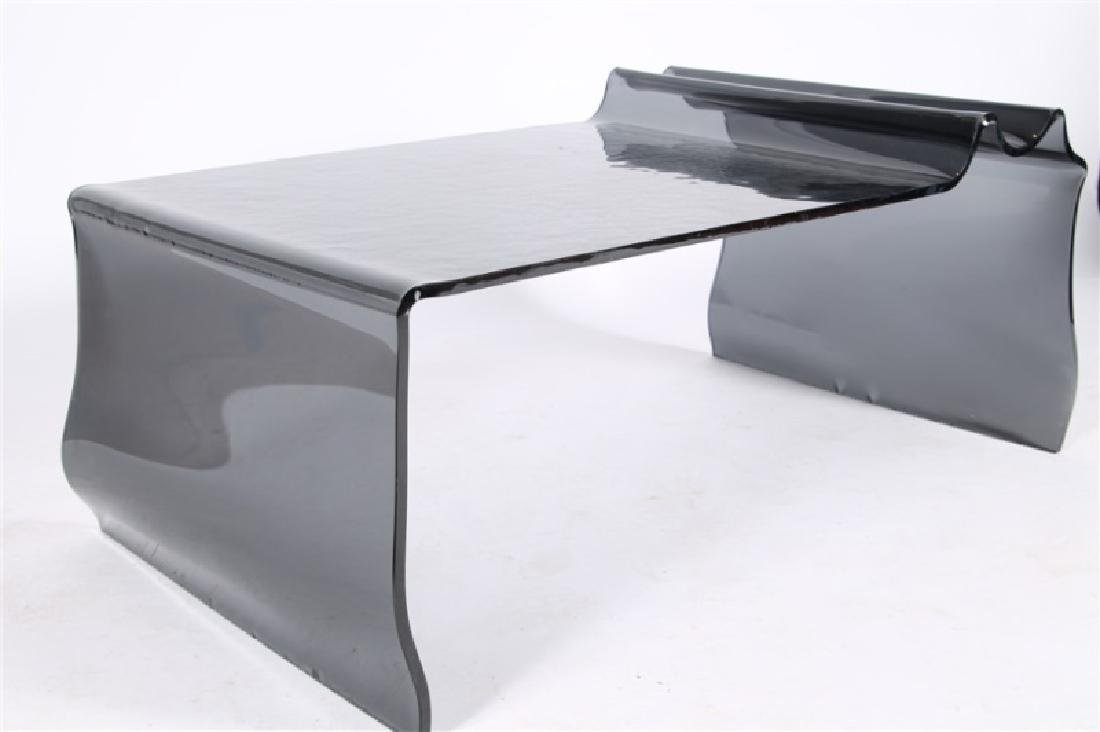 Contemporary Studio Glass Cocktail Table - 5