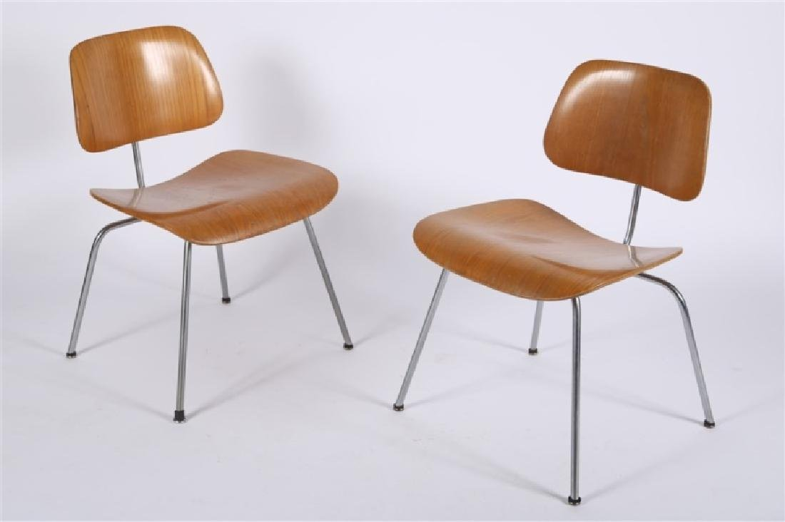 Eames for Herman Miller, Pair of DCM Chairs