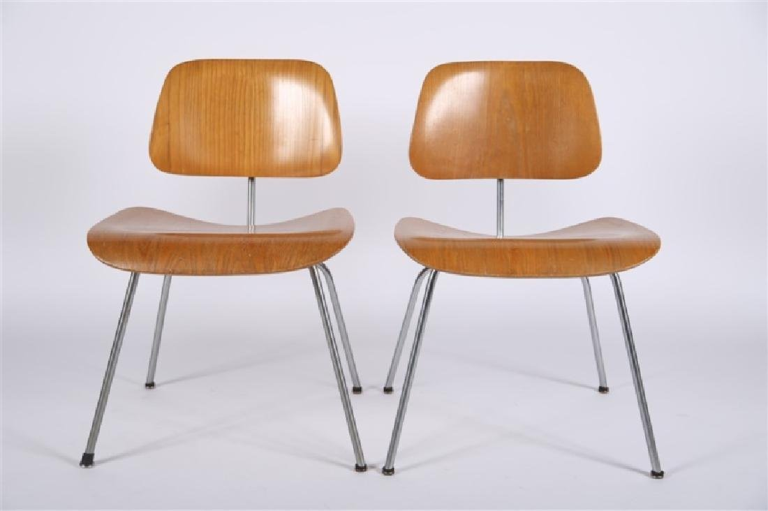 Eames for Herman Miller, Pair of DCM Chairs - 2