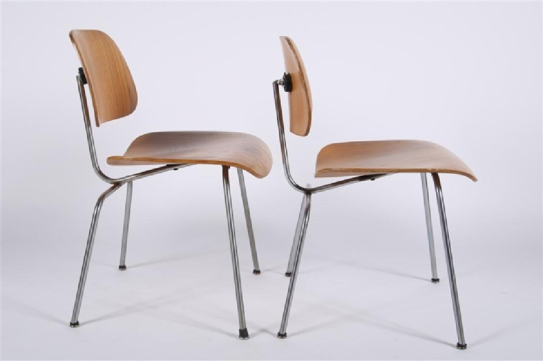 Eames for Herman Miller, Pair of DCM Chairs - 3