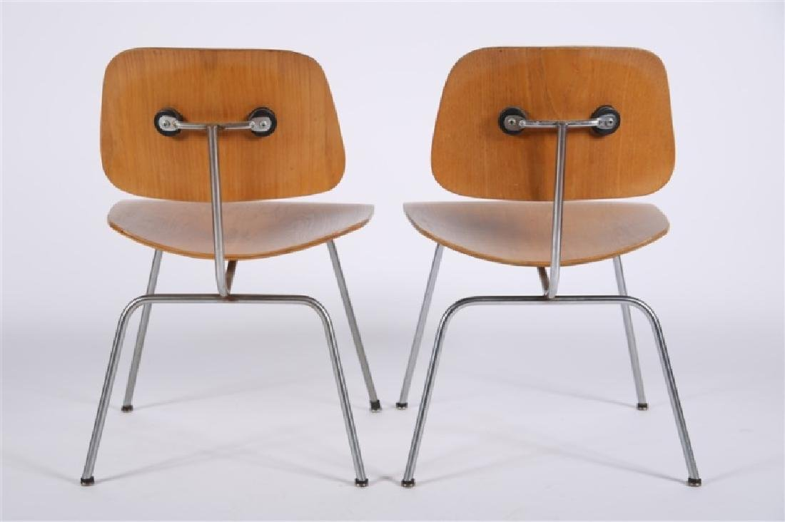 Eames for Herman Miller, Pair of DCM Chairs - 4