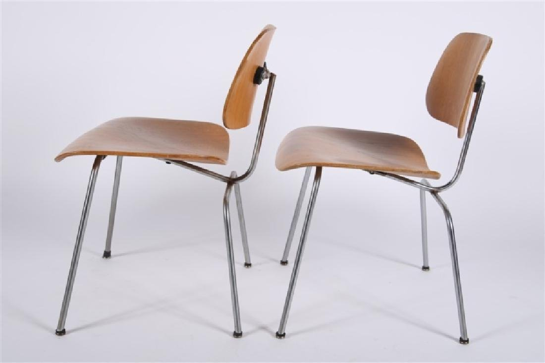 Eames for Herman Miller, Pair of DCM Chairs - 5