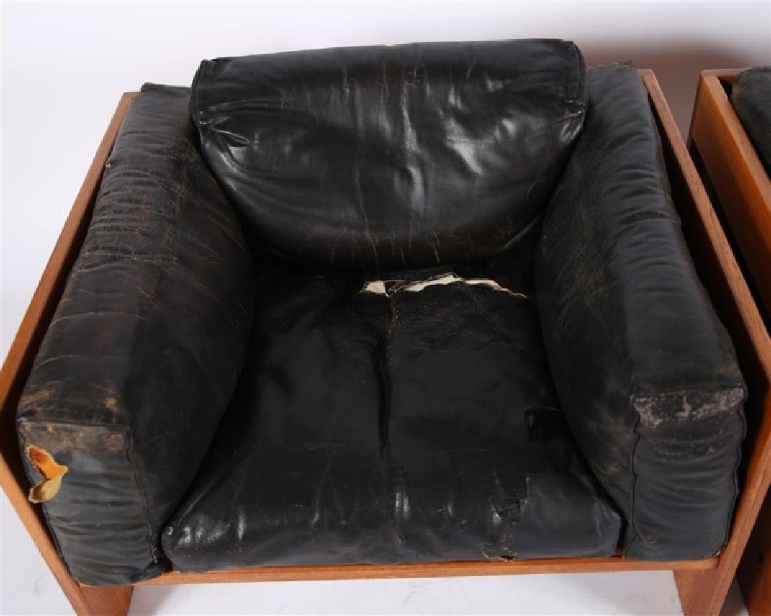"Tobia Scarpa (Italian), Pair of ""Bastiano"" Chairs - 3"