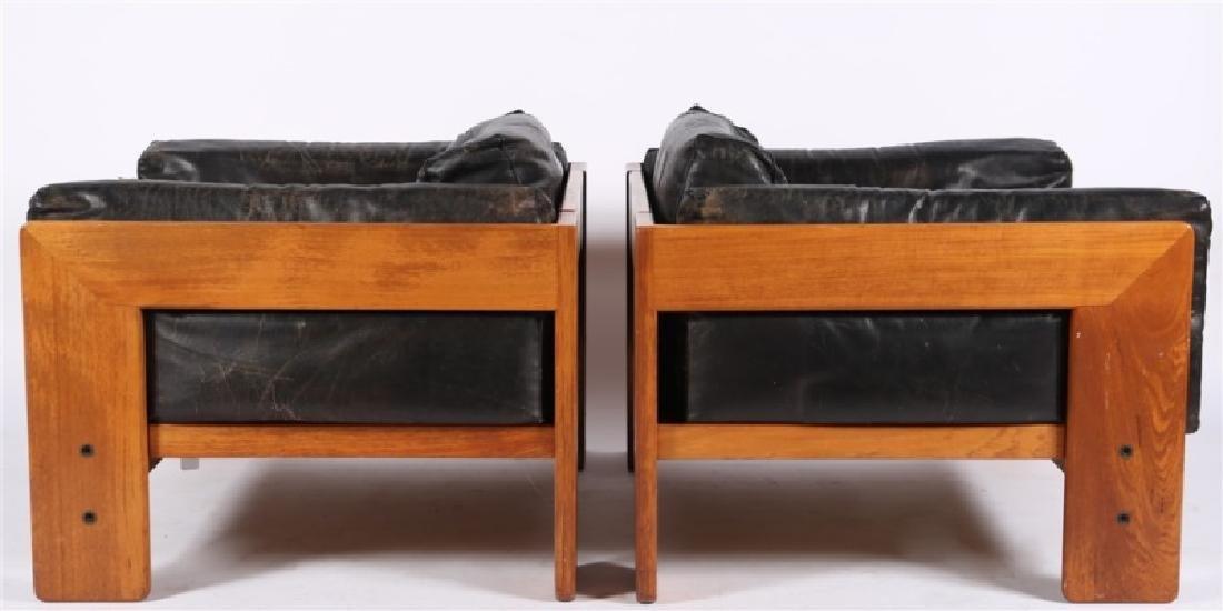 "Tobia Scarpa (Italian), Pair of ""Bastiano"" Chairs - 6"