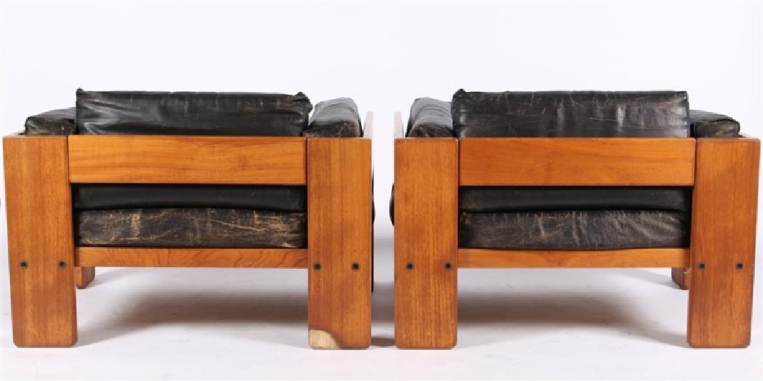 "Tobia Scarpa (Italian), Pair of ""Bastiano"" Chairs - 7"
