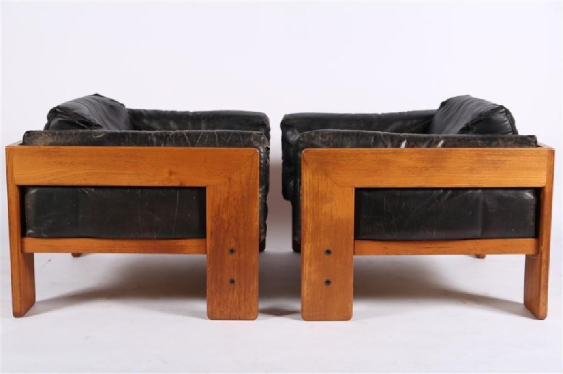 "Tobia Scarpa (Italian), Pair of ""Bastiano"" Chairs - 8"