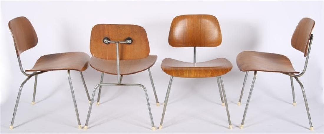Eames for Herman Miller, Set of Four DCM Chairs