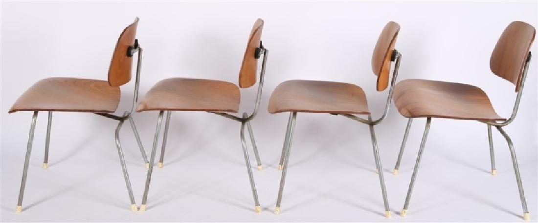 Eames for Herman Miller, Set of Four DCM Chairs - 3